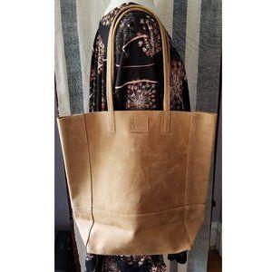 Safari Leather Bucket Bag